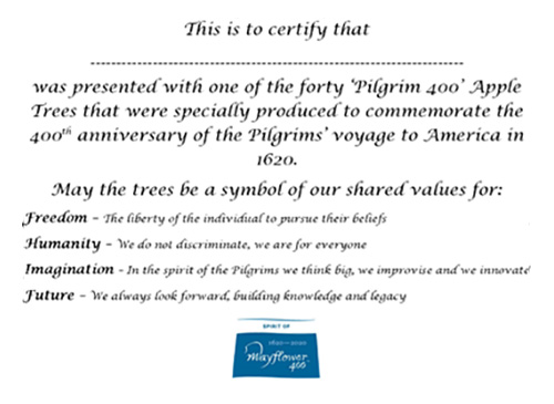 The Pilgrim 400 Apple | Mayflower 400 Events | Plymouth Pilgrims